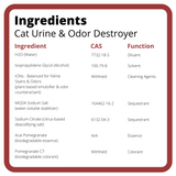 Cat Urine & Odor Destroyer ~ 32 oz. - Le Pet Luxe