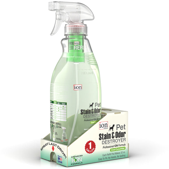 Gallon Pack - Stain & Odor Destroyer (Makes 128 oz.) - Le Pet Luxe