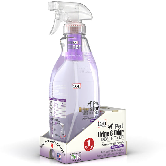 Gallon Pack - Urine & Odor Destroyer (Makes 128 oz.) - Le Pet Luxe