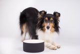 Naturally Cooling Dog Water Bowl Black - Le Pet Luxe