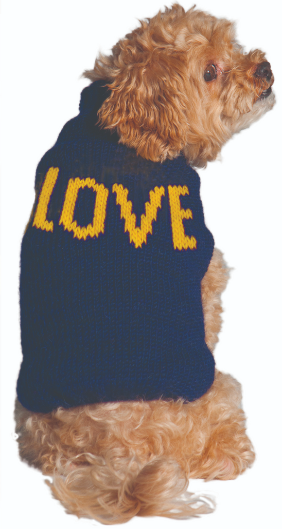 Alpaca LOVE Dog Sweater - Le Pet Luxe