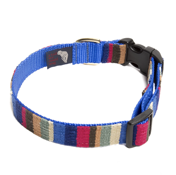 A tail we could wag Side-Release Dog Collar ~ At the Beach Nantucket - Le Pet Luxe