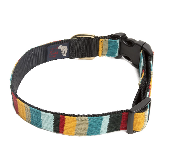 A tail we could wag Side-Release Dog Collar ~ At the Beach Catalina - Le Pet Luxe