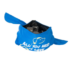 Bandana Bowl ~ Blue - Le Pet Luxe