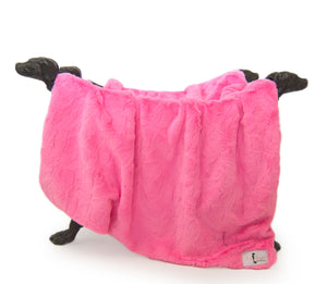 Bella Dog Blanket ~ Fuchsia - Le Pet Luxe