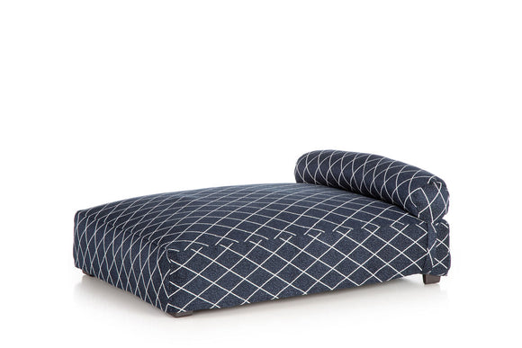 Contempo Slipcover Dog Bed ~ Navy Screen