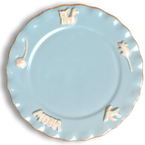 Cat Whisker Plate - Sky Blue - Le Pet Luxe