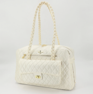 Porsha Carrier - Cream - Le Pet Luxe