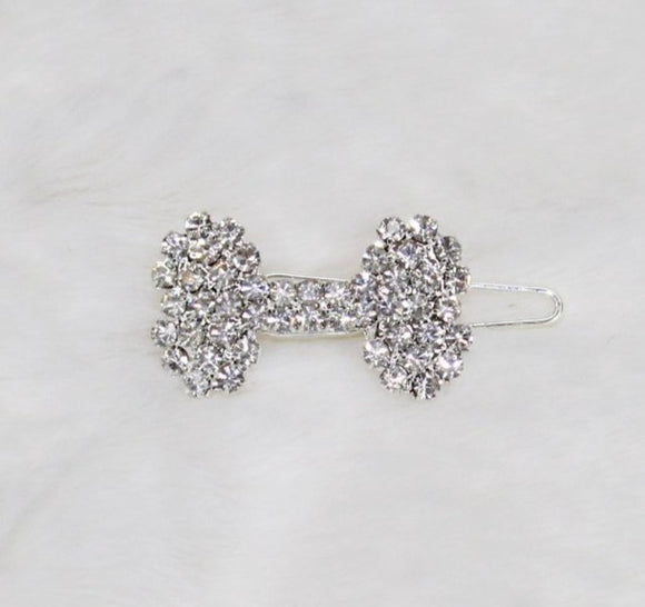 Crystal Bone Barrette - Le Pet Luxe
