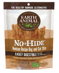 Earth Animal No Hide Venison Dog and Cat Stix - 10 Pack - le-pet-luxe