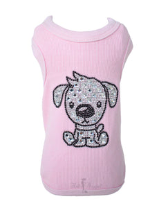 Doggie Dog Tank ~ Pink - Le Pet Luxe
