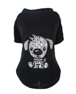 Doggie Dog Shirt ~ Black - Le Pet Luxe