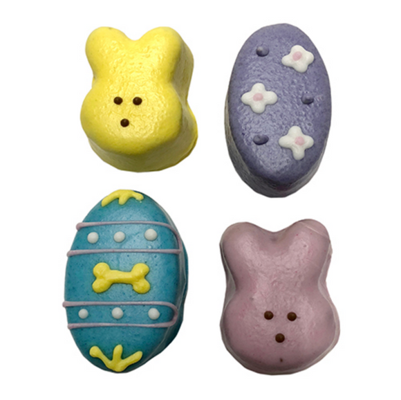 Easter Cake Bites (Case of 12) - Le Pet Luxe