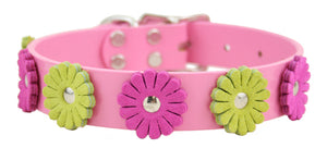 Flower Dog Collar ~ Pink - Le Pet Luxe