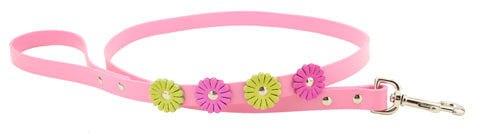 Flower Dog Leash ~ Pink - Le Pet Luxe