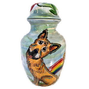 German Shepherd Dog Urn