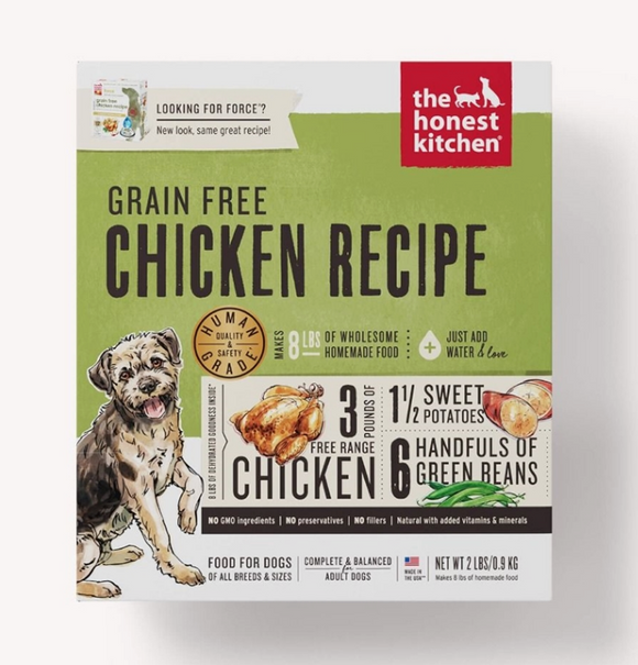 Honest Kitchen Dog Grain Free Chicken 2 Lbs. Box - Le Pet Luxe