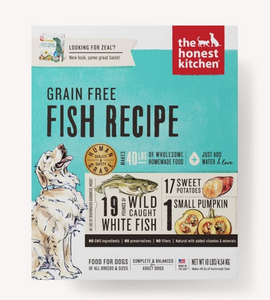 Honest Kitchen Dog Grain Free Fish 10 Lbs. Box - Le Pet Luxe