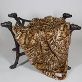 Deluxe Dog Blanket ~ Pearl Leopard - Le Pet Luxe