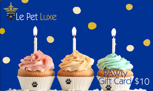 Gift Card ~ Pawty - Le Pet Luxe