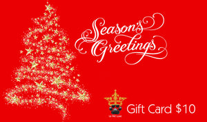 Gift Card ~ Season Greetings - Le Pet Luxe