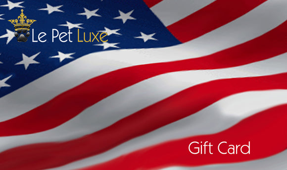 Gift Card ~ USA - Le Pet Luxe