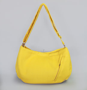 Vienna Luxury Messenger Sling Lemon - Le Pet Luxe