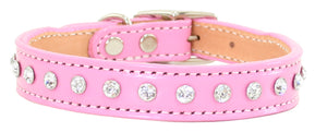 Madison & Maxwell Dog Collar ~ Pink - Le Pet Luxe