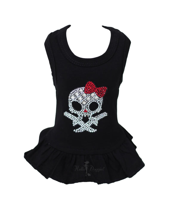 Molly Skull Dog Dress - Le Pet Luxe