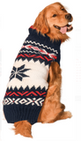 Apres Ski ~ Navy Vail Dog Sweater - Le Pet Luxe