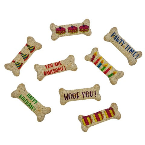 Personalized Dog Treats (pack of 8) ~ Pup Culture - Le Pet Luxe