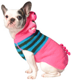 Characters ~ Pink Piggy Hoodie Dog Sweater - Le Pet Luxe