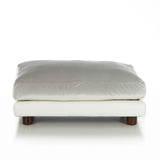 Soho Milo ~ White Faux Leather with Silver Velvet - Le Pet Luxe