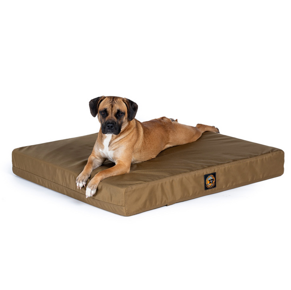 NEW! Solid Color Gorilla Ballistic™ Orthopedic Dog Bed - Rectangular - Le Pet Luxe