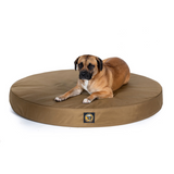 NEW! Solid Color Gorilla Ballistic™ Orthopedic Dog Bed - Round - Le Pet Luxe
