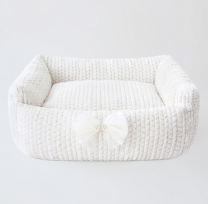 Dolce Dog Beds ~ Ivory - Le Pet Luxe