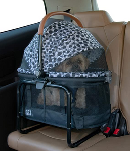 View 360 Booster Travel System ~ Grey Animal - Le Pet Luxe