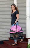 View 360 Booster Travel System ~ Pink Floral - Le Pet Luxe
