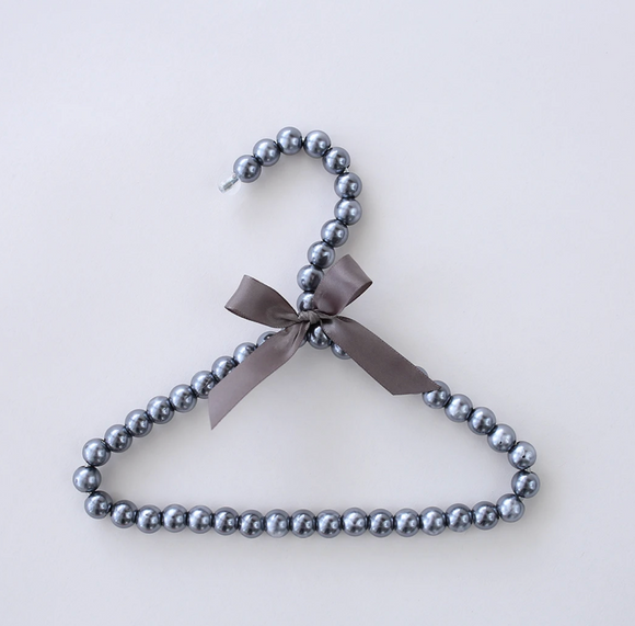 Pearl Hangers ~ Chrome - Le Pet Luxe