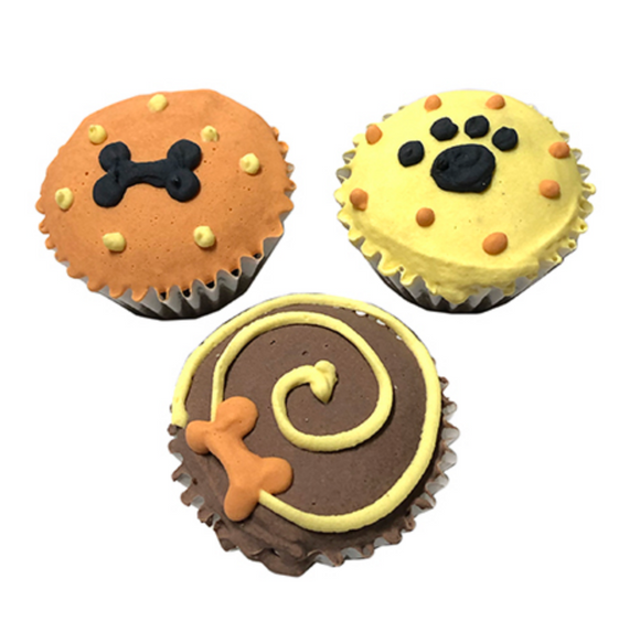 Fall Mini Cupcakes (case of 15) - Le Pet Luxe