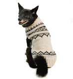 Alpaca Cream Wyatt Dog Sweater - Le Pet Luxe