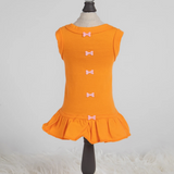 Candy Dog Dress Collection ~ Orange - Le Pet Luxe