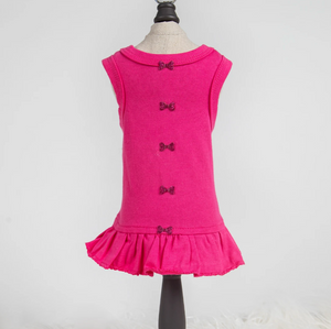 Candy Dog Dress Collection ~ Fuchsia - Le Pet Luxe
