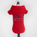 Born in the USA Dog Polo ~ Red - Le Pet Luxe