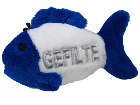 Talking Gefilte Fish Dog Toy - Le Pet Luxe