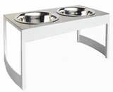 Indus Steel Dog Diner - Le Pet Luxe
