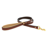 Padded Leather Leash - Le Pet Luxe