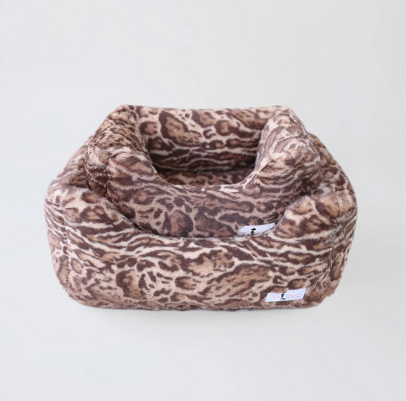 Deluxe Dog Beds - Jungle Cat - Le Pet Luxe