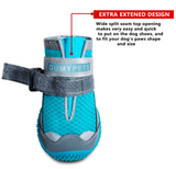 QUMY Dog Shoes for Hot Pavement - Blue - Le Pet Luxe