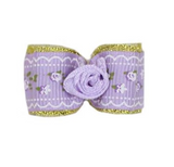 Flower Dog Bow ~ White - Le Pet Luxe